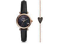 Подарочный набор: часы наручные женские, браслет. Fossil, фото 1