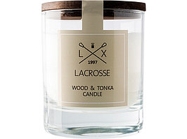 Свеча ароматическая в стекле Дерево & Тонка, бежевый (артикул 436201)