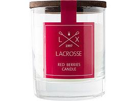 Свеча ароматическая в стекле Красные ягоды, красный (артикул 436203)