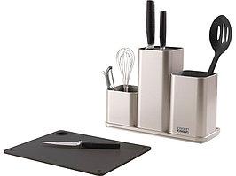 Органайзер для кухонной утвари настольный CounterStore, серебристый (артикул 85122)