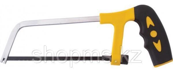Ножовка по металлу мини 150 мм, пластиковая прорезиненная ручка АКЦИЯ