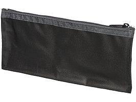 Перламутровый пенал Fabien, черный прозрачный (артикул 21036901)