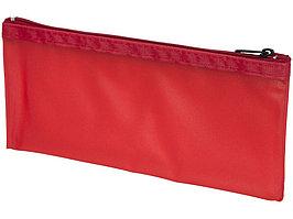 Перламутровый пенал Fabien, прозрачный/красный (артикул 21036903)