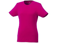 Женская футболка Balfour с коротким рукавом из органического материала, розовый, фото 1