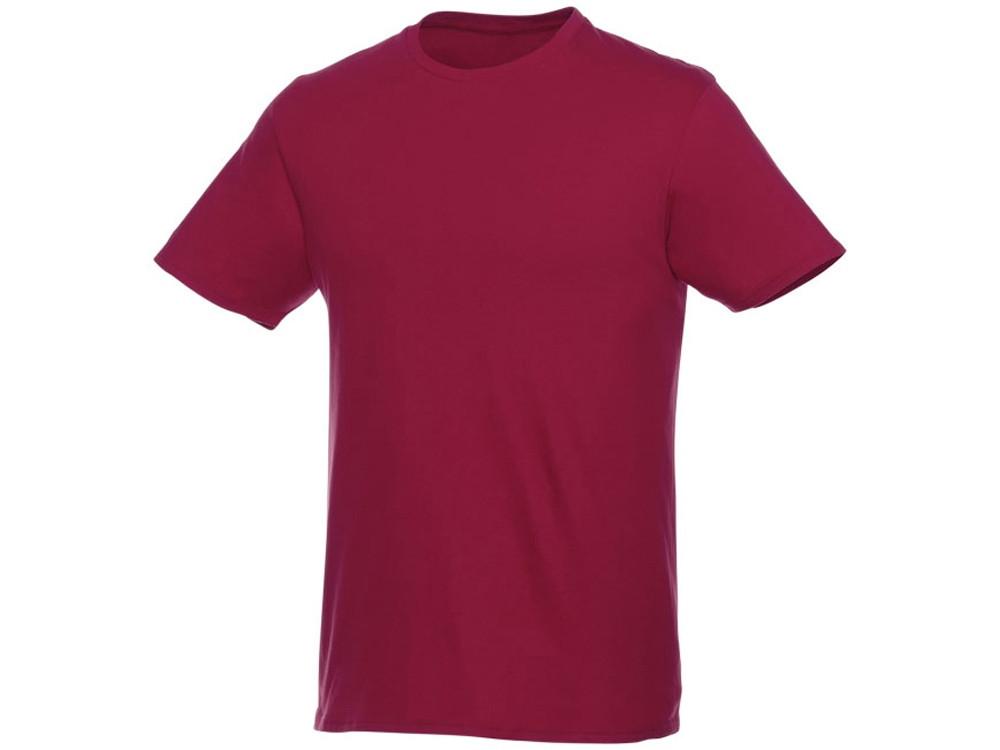 Мужская футболка Heros с коротким рукавом, бургунди (артикул 38028242XL)