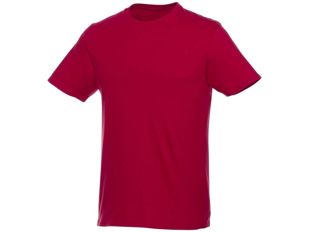 Футболка-унисекс Heros с коротким рукавом, красный
