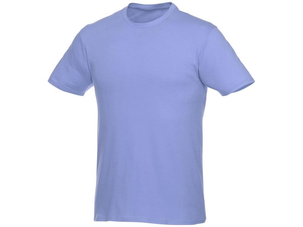 Мужская футболка Heros с коротким рукавом, светло-синий (артикул 38028403XL)