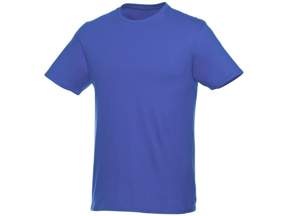 Мужская футболка Heros с коротким рукавом, синий (артикул 38028442XL)
