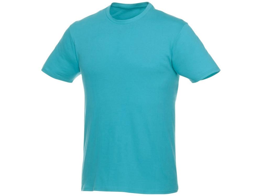 Мужская футболка Heros с коротким рукавом, аква (артикул 3802851S)