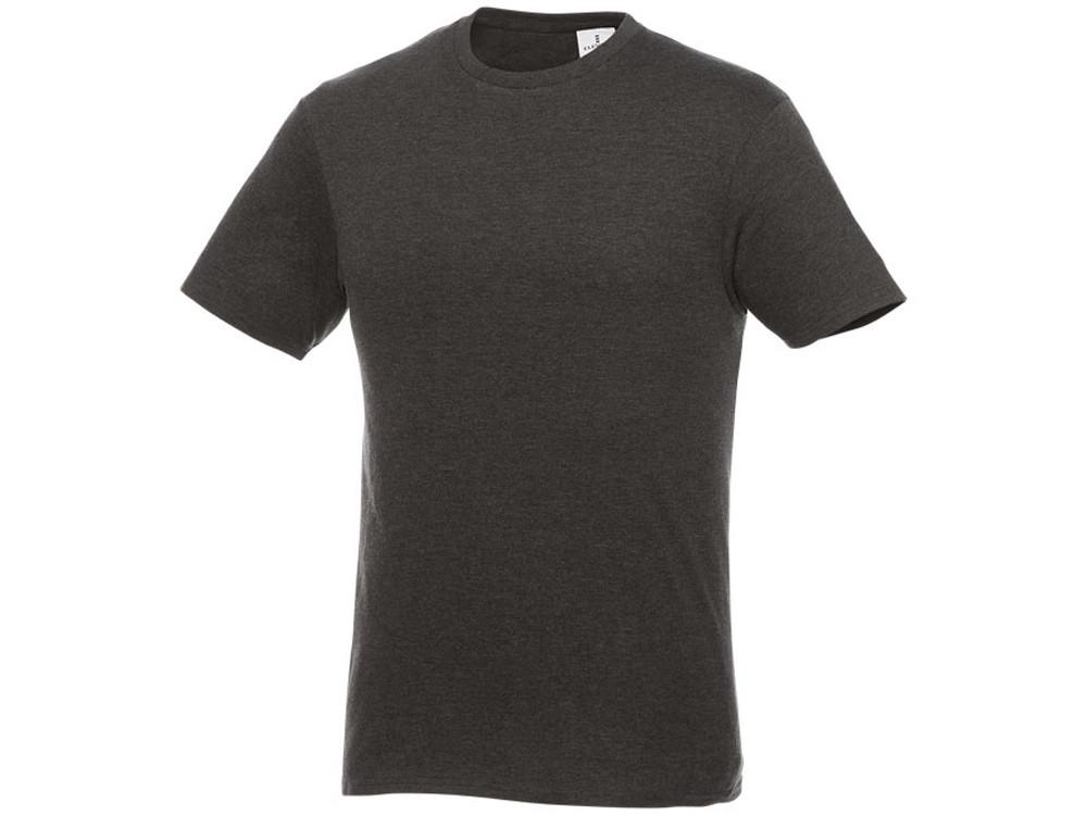 Мужская футболка Heros с коротким рукавом, темно-серый (артикул 38028982XL)