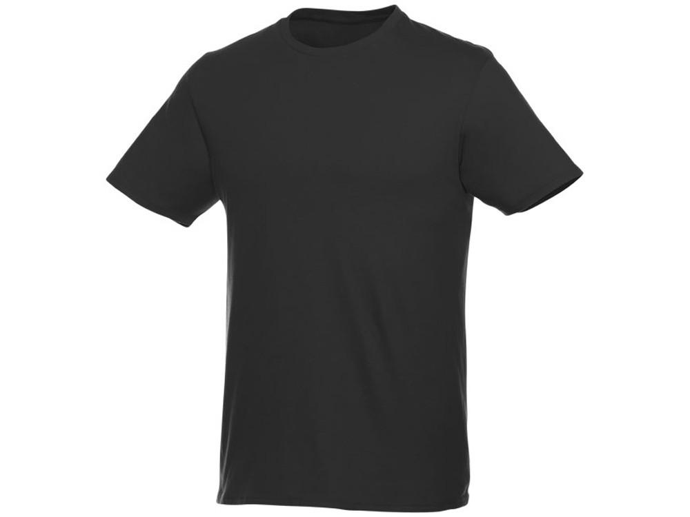 Мужская футболка Heros с коротким рукавом, черный (артикул 38028994XL)