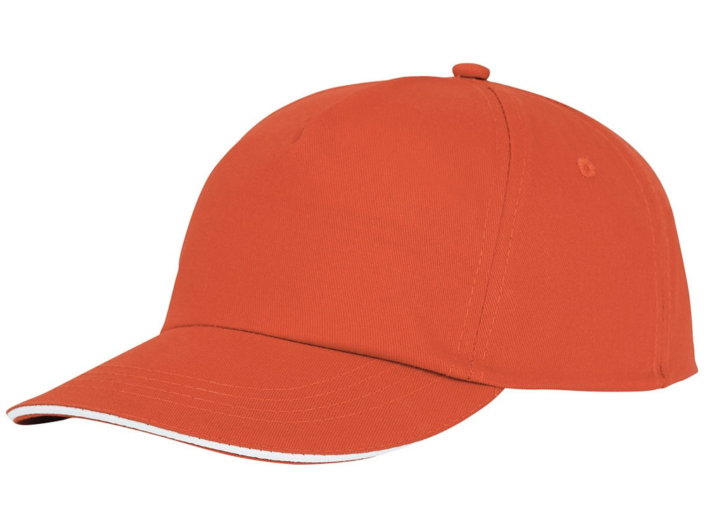 Пятипанельная кепка-сендвич Styx, оранжевый (артикул 38668330)