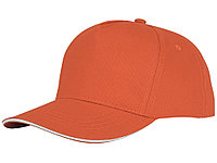 Пятипанельная кепка-сендвич Ceto, оранжевый (артикул 38674330), фото 1