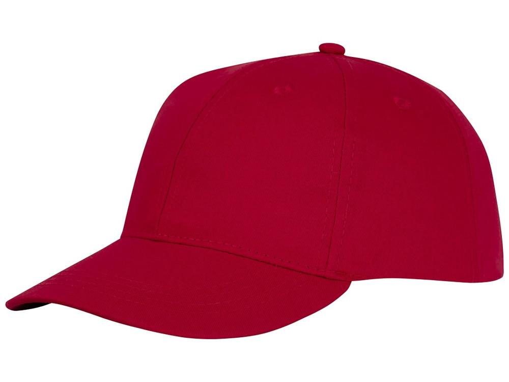 Шестипанельная кепка Ares, красный (артикул 38675250)