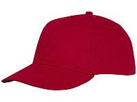 Шестипанельная кепка Ares, красный (артикул 38675250), фото 1