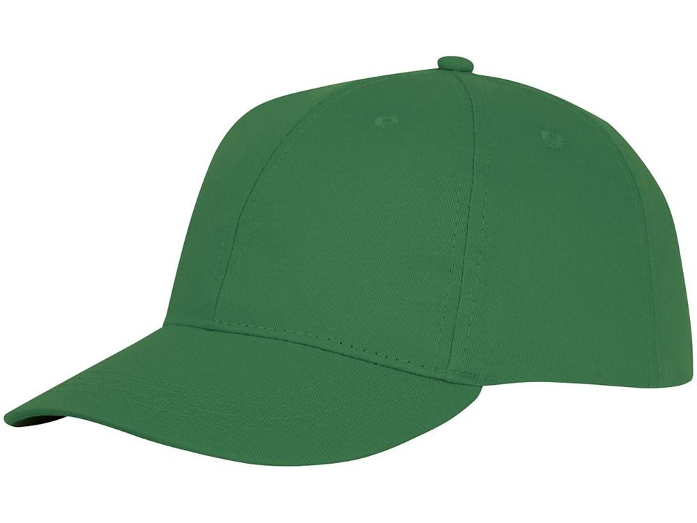 Шестипанельная кепка Ares, зеленый папоротник (артикул 38675690)