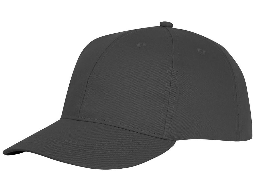 Шестипанельная кепка Ares, серый (артикул 38675890)