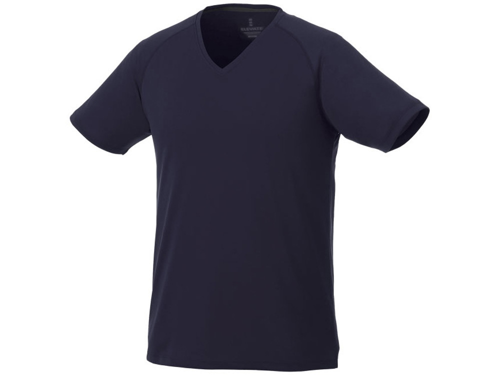 Модная мужская футболка Amery с коротким рукавом и V-образным вырезом, темно-синий (артикул 3902549S)