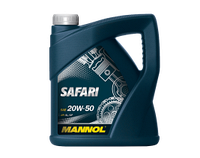 Моторное масло MANNOL SAFARI SAE 20W-50 API SG/CD  1 литр
