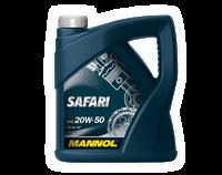 Моторное масло MANNOL SAFARI SAE 20W-50 API SG/CD  5 литров