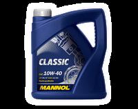 Моторное масло MANNOL СLASSIC SAE 10W-40 API SN/CF  4 литра