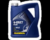 Мотоциклетное моторное  масло MANNOL 4-TAKT PLUS 1 литр