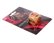 """Кубик деревянный """"Секс для двоих"""""""