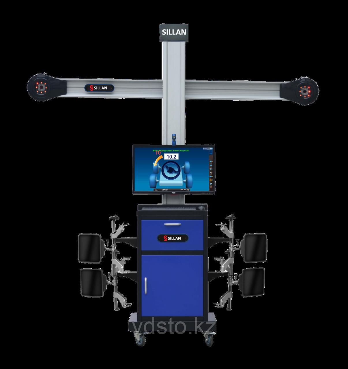 Стенд развал-схождения Sillan V500 с технологией 3D