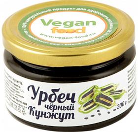 Урбеч из семян черного кунжута, 200 г