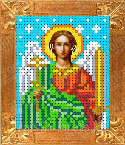 """Рисунок на ткани для вышивания бисером/крестом  """"Икона Ангел Хранитель"""" КБИ-6029"""
