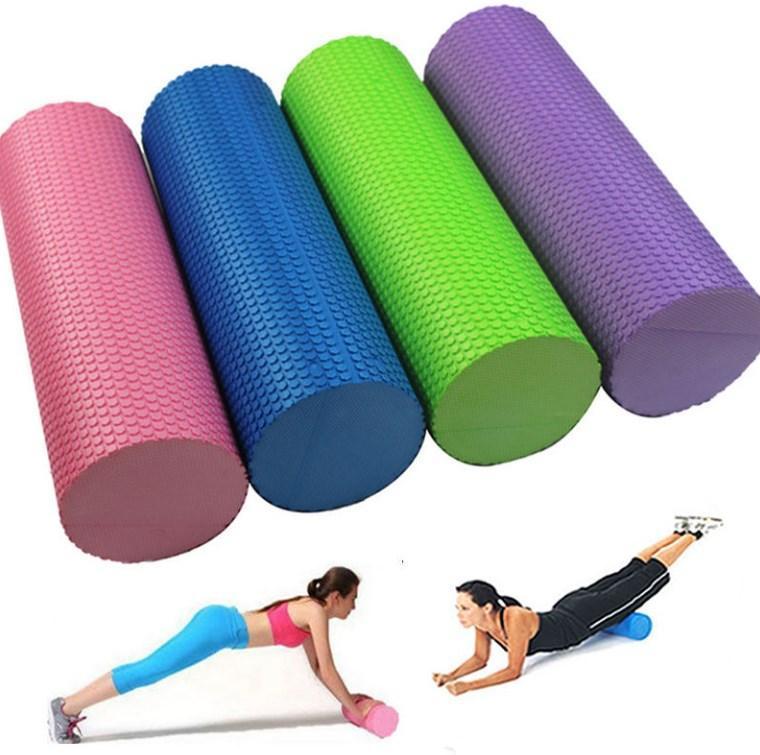 Массажные валики(ролики)  для фитнеса 45см