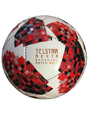 """Футбольный мяч """"Telstar 2018"""" (кожа), фото 2"""