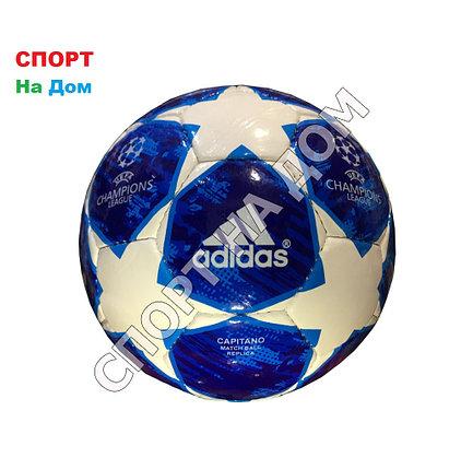 Футбольный мяч Лига Чемпионов ЛЧ-2018 (кожа), фото 2