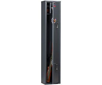 Оружейный сейф на 1 ствол AIKO Чирок с трейзером, с ключевым замком
