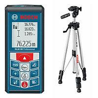 Лазерный дальномер Bosch  GLM 80+BS150