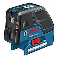 Комби-лазер (линейный + точечный) Bosch GCL 25 + BM1 (новый) в L-Boxx 136