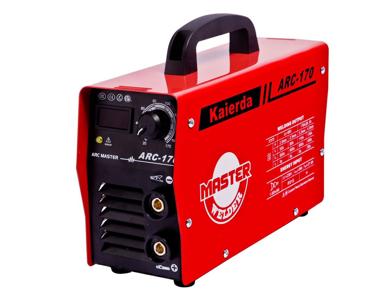 Сварочный аппарат Kaierda 170Ah ARC170