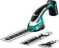 Аккумуляторные ножницы для травы и кустов Bosch ASB 10,8 LI