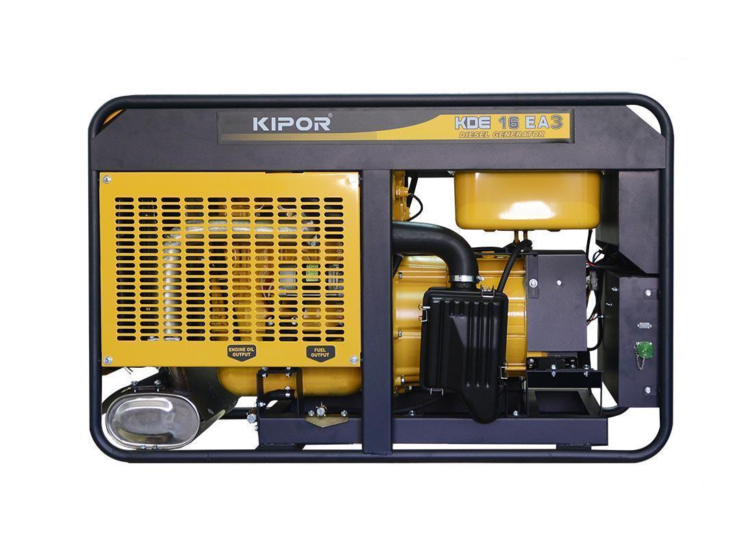 Дизельный генератор KIPOR KDE16EA3+KPEC40026DP52A