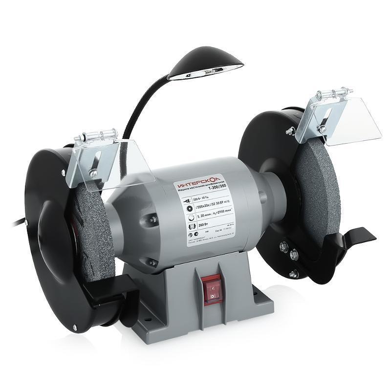 Электроточило Интерскол Т-200/350