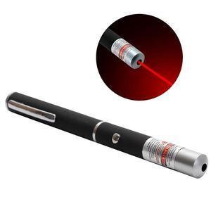 Яркая лазерная указка, красный луч, дальность 500 метров