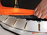 Батут GLOBAL 305 см с внутренней сеткой и лестницей, фото 3