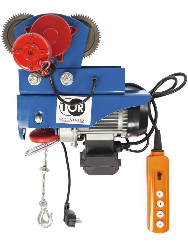 Электрическая таль TOR PA-300/600 20/10M с тележкой