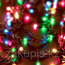 Гирлянда с цветными лампочками
