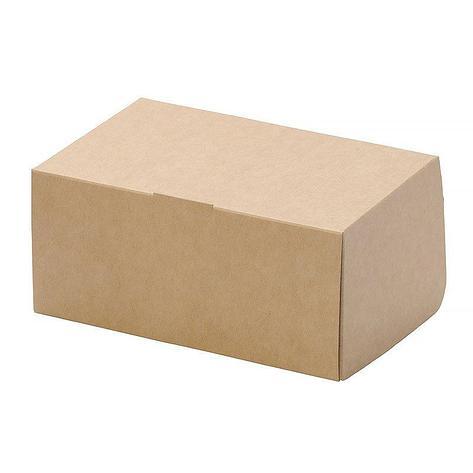 """Коробка """"DoEco"""" 150х100х85мм ECO CAKE 1200, коричн., 250 шт, фото 2"""