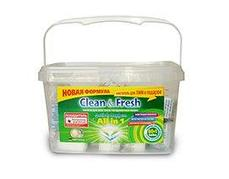 Таблетки для ПММ Clean&Fresh All in1 mega (60 табл.), 60 шт