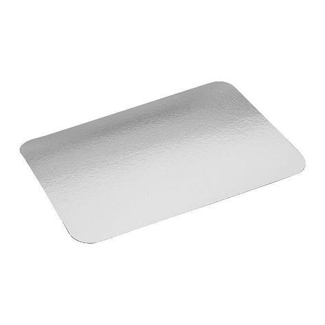 Крышка к алюминиевой форме 308x208мм, картон/алюминий, 300 шт, фото 2