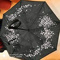 Зонт-наоборот, лепестки сакуры
