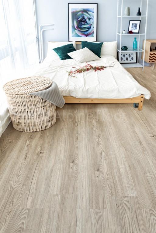 Кварц-виниловая плитка Alpine Floor Секвойя Серая ЕСО6-5