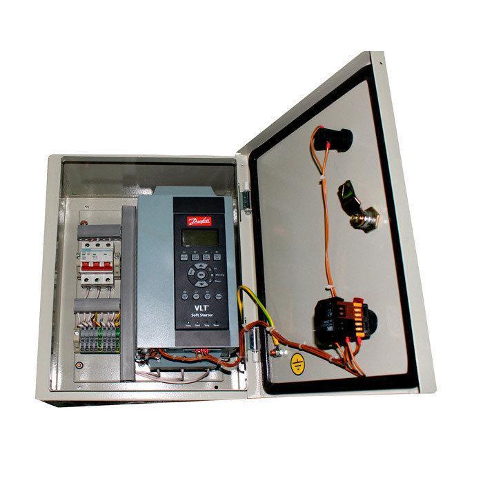 ШУ 2КНС 0750-380-ПП, шкаф управления для двух погружных канализационных насосов (прямой пуск)